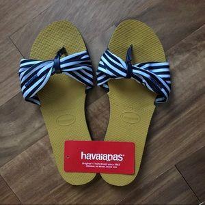 2d19908410840 Havaianas Shoes - Havianas You Saint Tropez Stripe Thong Sandal 9 10